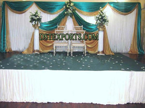 New stylish stage backdrop wedding new stylish stage backdrop junglespirit Gallery