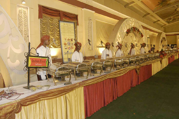 Indian Wedding Stall