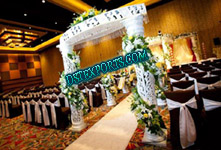 NEW WEDDING WELCOME FIBER CRYSTAL GATE