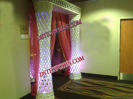 INDIAN WEDDING CRYSTAL WELCOME GATE